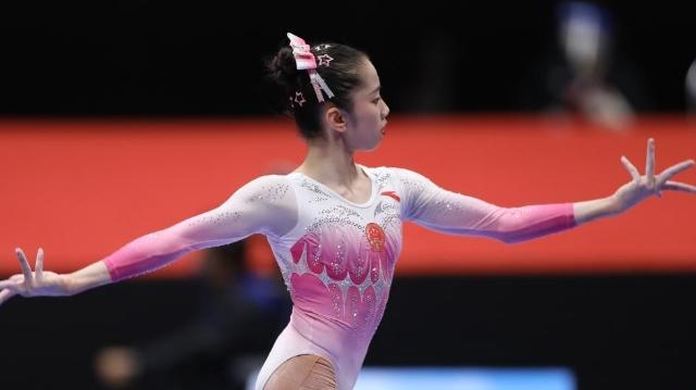 韦筱圆获世锦赛女子个人全能第六名
